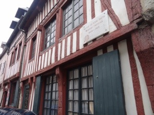 Composer Eric Satie's old house