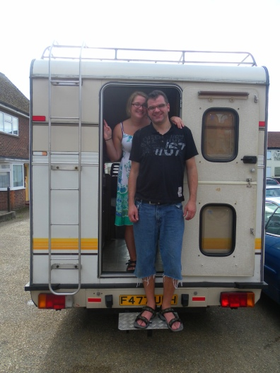 Daisy - our very first motorhome