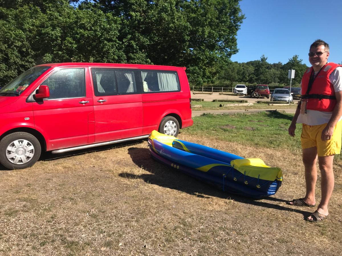 aldi inflatable kayak